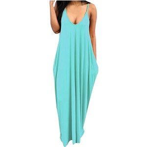 Dresses & Skirts - Sexy Deep V Summer Maxi Dress